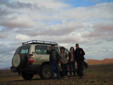 モロッコ体験談 冬2月no.1|サハラ砂漠の風の画像