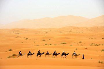 モロッコ体験談 春3月no.1|サハラ砂漠の風の画像