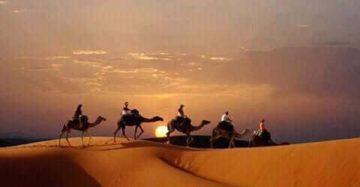 モロッコ新婚旅行 体験談 no.3|サハラ砂漠の風の画像