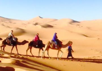 モロッコ体験談 秋11月no.3|サハラ砂漠の風の画像