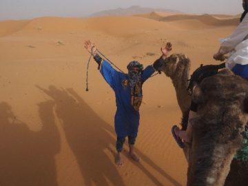 モロッコ体験談 春5月|サハラ砂漠の風の画像