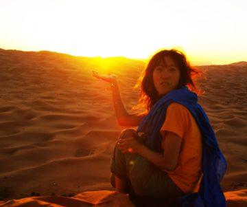 モロッコ旅行のツアーメイト募集|サハラ砂漠の風の画像