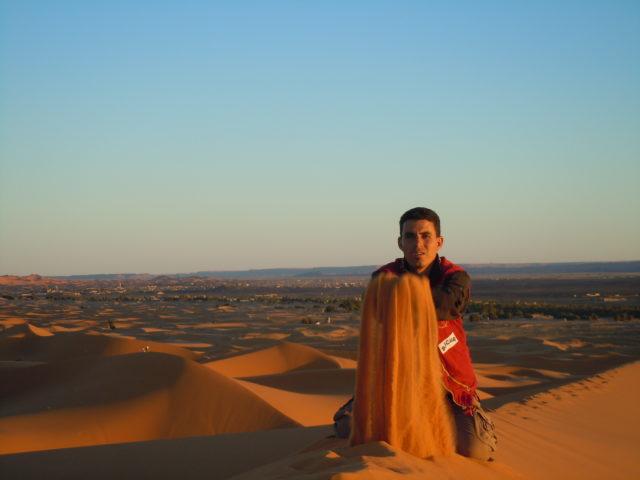 モロッコ砂漠