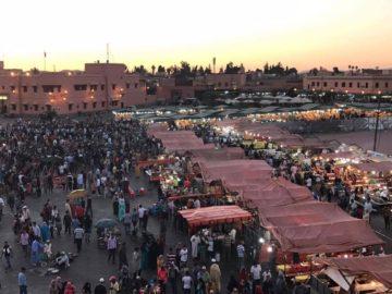 モロッコ・マラケシュ歴史とみどころ・観光|サハラ砂漠の風の画像