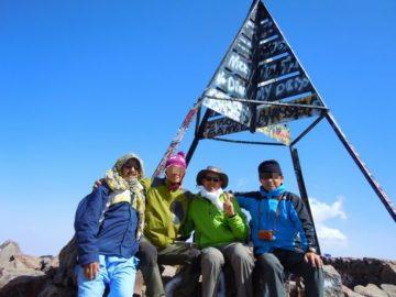 ツブカル山トレッキング・モロッコの画像