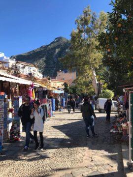モロッコ・シャウエンの観光・みどころ・行き方|サハラ砂漠の風の画像