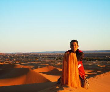 「サハラ砂漠の風」- About Us、日本語スキルの画像