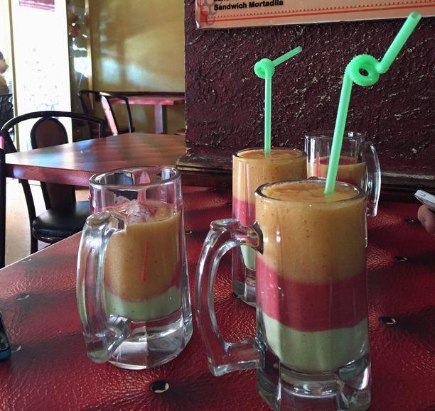 モロッコのジュース屋さん