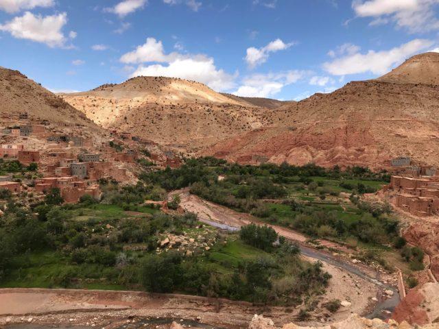 モロッコの大自然・さすがアフリカ