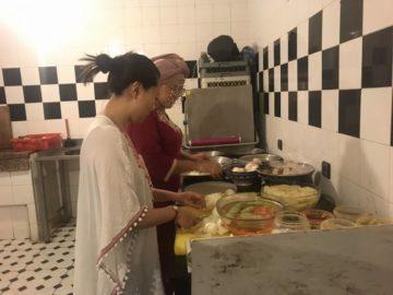 モロッコ 現地ツアーで料理体験