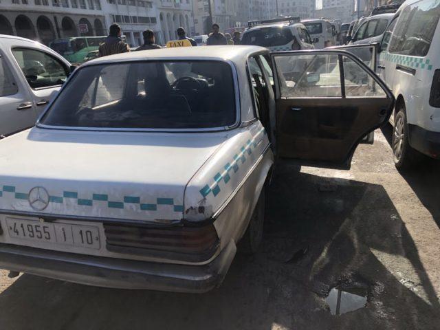 モロッコのタクシー