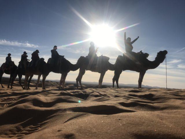 サハラ砂漠のサンライズツアー