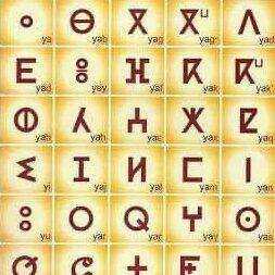 ベルベル語のアルファベット