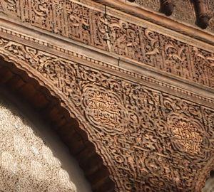 モロッコ木工細工の技と歴史の画像