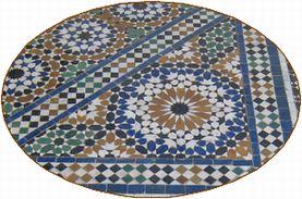 モロッコ タイルzelligeの画像