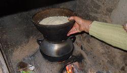 モロッコ料理 クスクスの作り方の画像