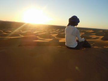 モロッコ体験談 春5月no.1|サハラ砂漠の風の画像